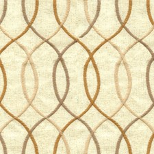 Ivory/Gold/Taupe Contemporary Decorator Fabric by Kravet