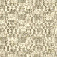 White/Beige Geometric Decorator Fabric by Kravet