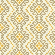 Ivory/Grey/Gold Solid W Decorator Fabric by Kravet