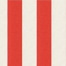 White/Orange Stripes Decorator Fabric by Kravet