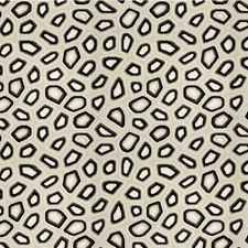 Anthracite Geometric Decorator Fabric by Kravet