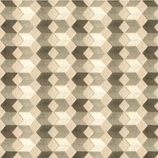 White/Grey/Beige Geometric Decorator Fabric by Kravet