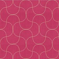 Fuchsia Lattice Decorator Fabric by Kravet