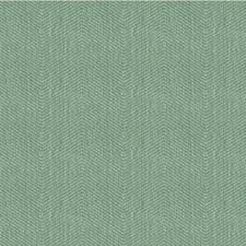 Teal/Light Blue Herringbone Decorator Fabric by Kravet
