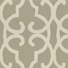 Flint Gray Damask Decorator Fabric by Kravet