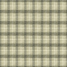 Grey/Charcoal/White Plaid Decorator Fabric by Kravet