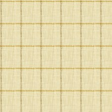 Beige/Gold/Taupe Check Decorator Fabric by Kravet