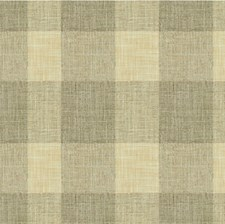 Light Grey/Beige Check Decorator Fabric by Kravet