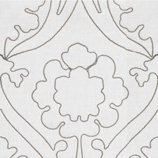Pewter Damask Decorator Fabric by Kravet