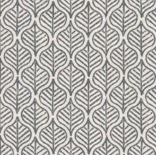 Teal/Beige Botanical Decorator Fabric by Kravet