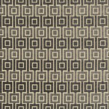 Grey/Beige Geometric Decorator Fabric by Kravet