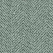Turquoise Herringbone Decorator Fabric by Kravet