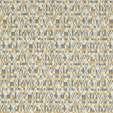 Camel/Bronze/Blue Small Scales Decorator Fabric by Kravet