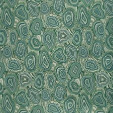 Teal/Green/White Geometric Decorator Fabric by Kravet