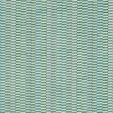 Sage/Light Blue/Turquoise Stripes Decorator Fabric by Kravet