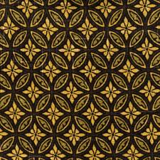 Ebony Print Pattern Decorator Fabric by Fabricut