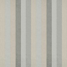 Grey Heather Stripes Decorator Fabric by Kravet