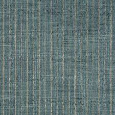 Teal/Beige Stripes Decorator Fabric by Kravet