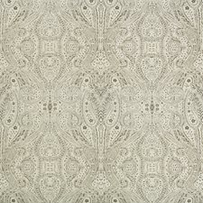 Ivory/Grey Paisley Decorator Fabric by Kravet