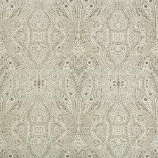 Ivory/Grey Paisley Decorator Fabric by Kravet