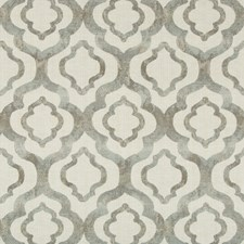 Light Grey/Beige Geometric Decorator Fabric by Kravet