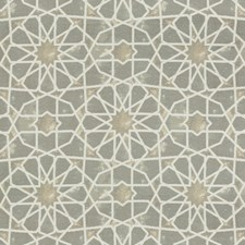 Light Grey/Beige/Ivory Ethnic Decorator Fabric by Kravet