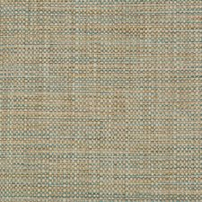 Beige/Turquoise Solids Decorator Fabric by Kravet