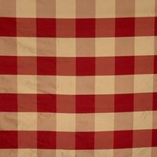 Vermillion Check Decorator Fabric by Fabricut