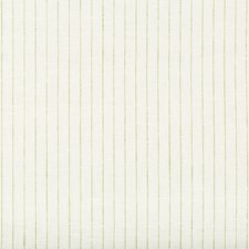 White/Green/Mint Stripes Decorator Fabric by Kravet