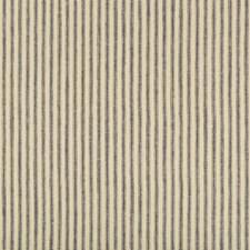 Beige/Indigo Stripes Decorator Fabric by Kravet