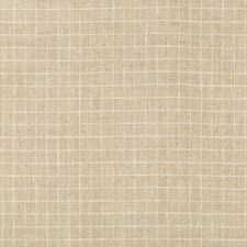 Beige/White/Wheat Check Decorator Fabric by Kravet