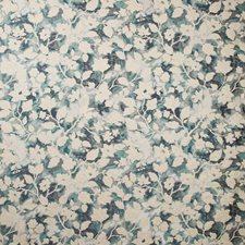 Teal Botanical Decorator Fabric by Kravet