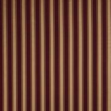 Claret Stripes Decorator Fabric by Fabricut