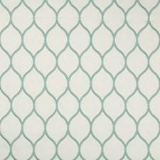 Ivory/Green Geometric Decorator Fabric by Kravet