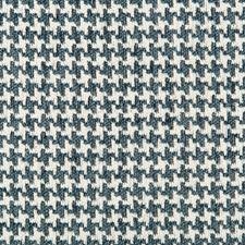 Indigo/White/Blue Texture Decorator Fabric by Kravet