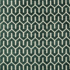 Beige/Green Geometric Decorator Fabric by Kravet