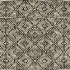 Charcoal/Grey Geometric Decorator Fabric by Kravet