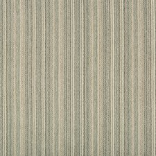 Teal/Grey Stripes Decorator Fabric by Kravet