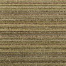 Brown/Green/Grey Stripes Decorator Fabric by Kravet