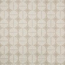 Neutral/White Geometric Decorator Fabric by Kravet