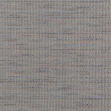 Blue/Camel/Brown Herringbone Decorator Fabric by Kravet