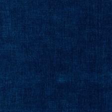 Dark Blue/Indigo/Blue Solid Decorator Fabric by Kravet