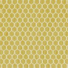 Chartreuse/Green Geometric Decorator Fabric by Kravet