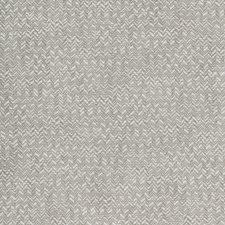 Light Grey/White/Grey Herringbone Decorator Fabric by Kravet