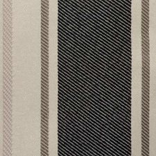 Black/Brown Stripe Decorator Fabric by Duralee