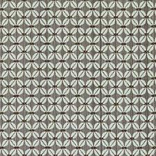 Chocolate Geometric Decorator Fabric by Duralee
