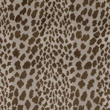 Chocolate Animal Skins Decorator Fabric by Duralee