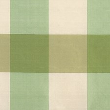 Green/Ivory Decorator Fabric by Scalamandre