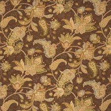 Mocha Jacobean Decorator Fabric by Fabricut