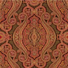 Pink Paisley Decorator Fabric by Kravet